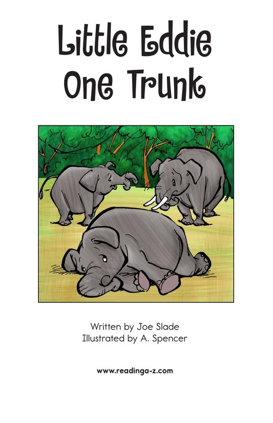 Book Preview For Little Eddie One Trunk Page 2