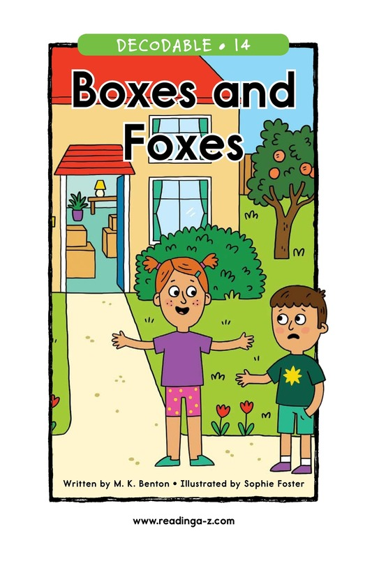 Book Preview For Boxes and Foxes Page 1