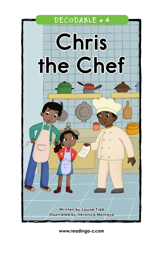 Book Preview For Chris the Chef Page 1