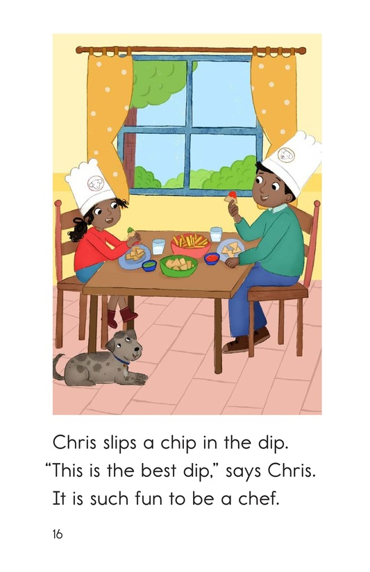 Book Preview For Chris the Chef Page 16
