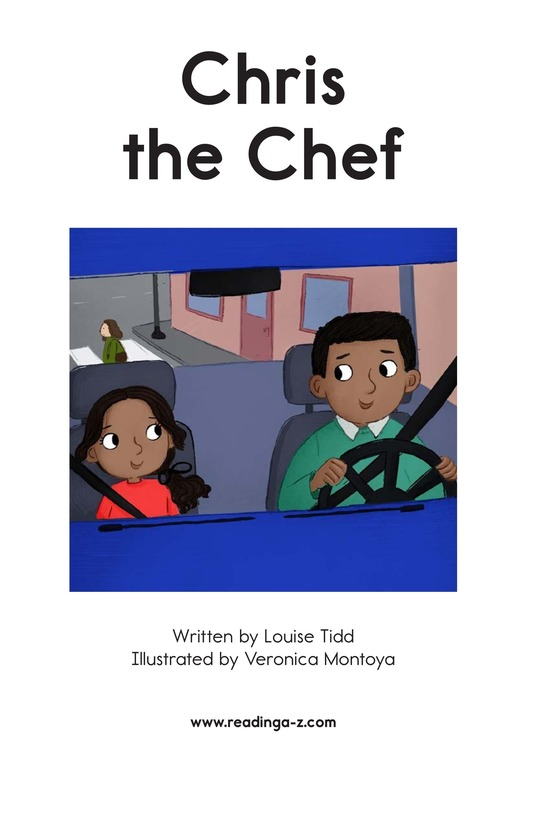 Book Preview For Chris the Chef Page 2
