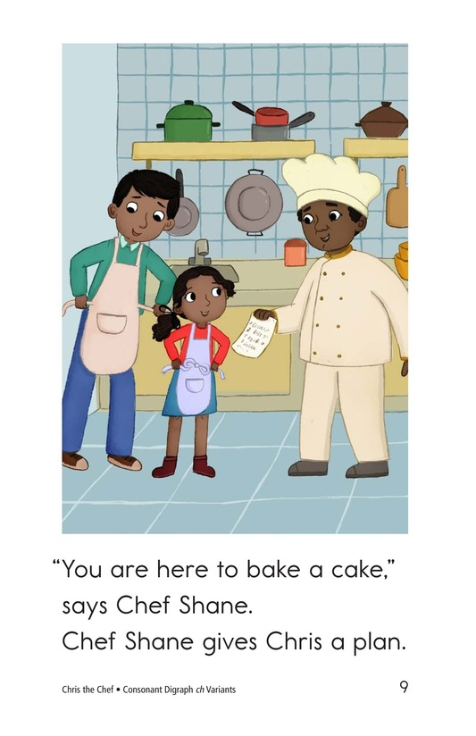 Book Preview For Chris the Chef Page 9