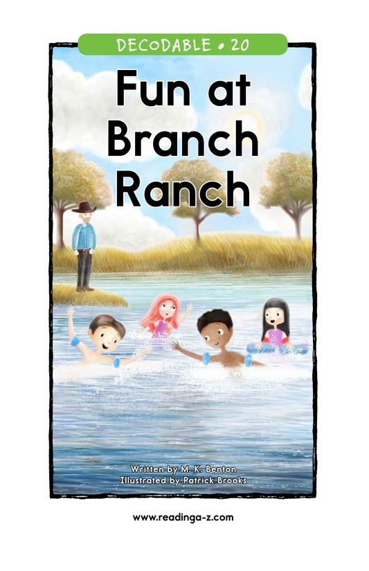 Book Preview For Fun at Branch Ranch Page 1