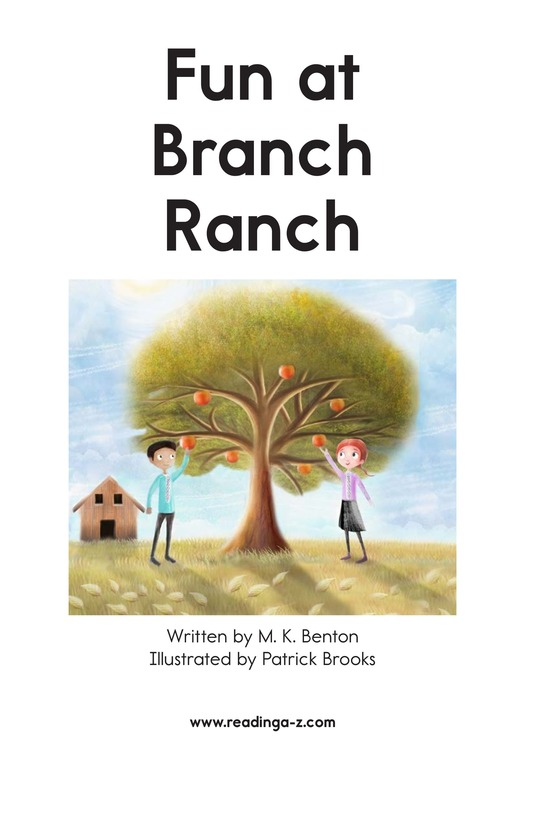 Book Preview For Fun at Branch Ranch Page 2