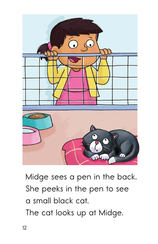Book Preview For Midge Gets a Pet Page 12