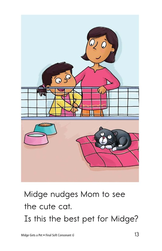 Book Preview For Midge Gets a Pet Page 13