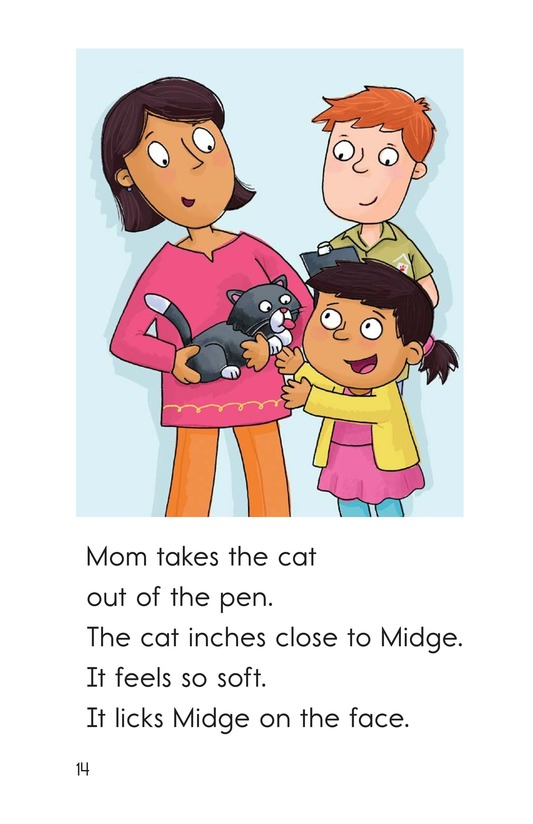 Book Preview For Midge Gets a Pet Page 14