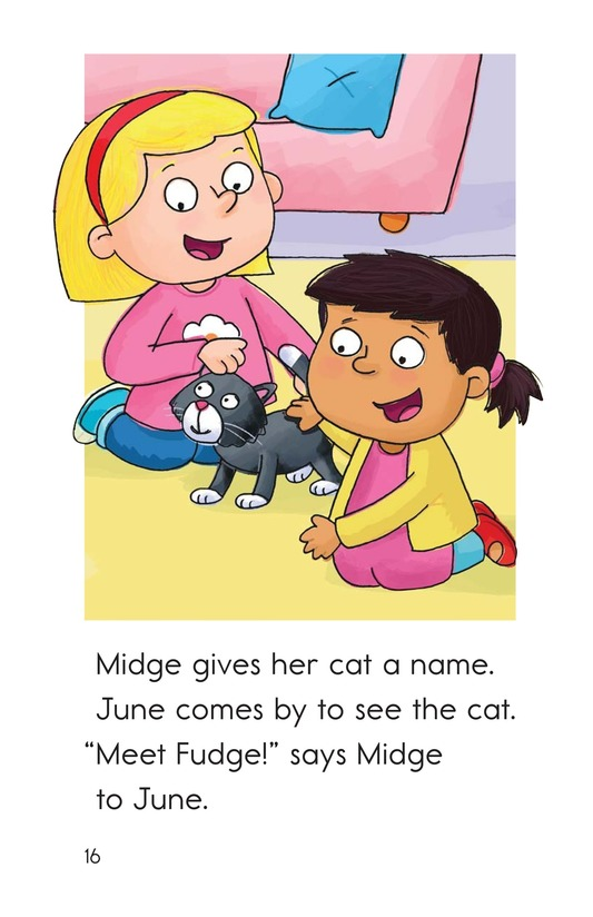 Book Preview For Midge Gets a Pet Page 16
