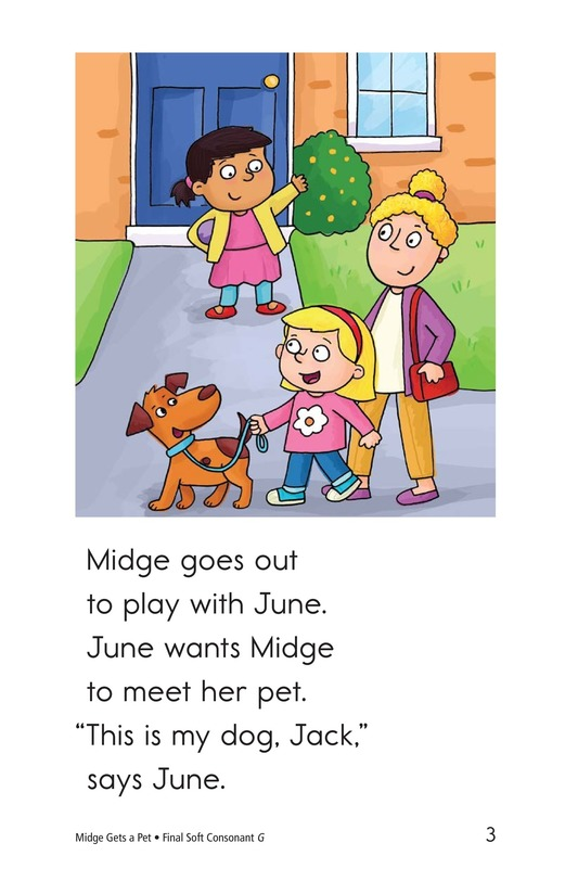 Book Preview For Midge Gets a Pet Page 3