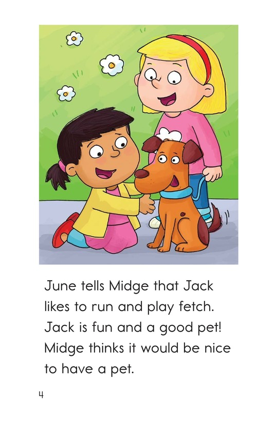Book Preview For Midge Gets a Pet Page 4