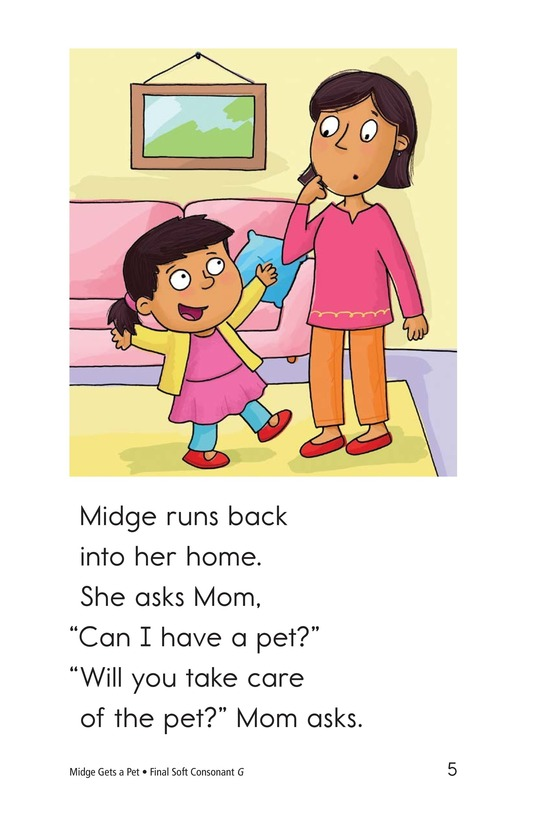 Book Preview For Midge Gets a Pet Page 5