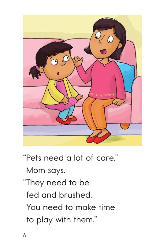 Book Preview For Midge Gets a Pet Page 6