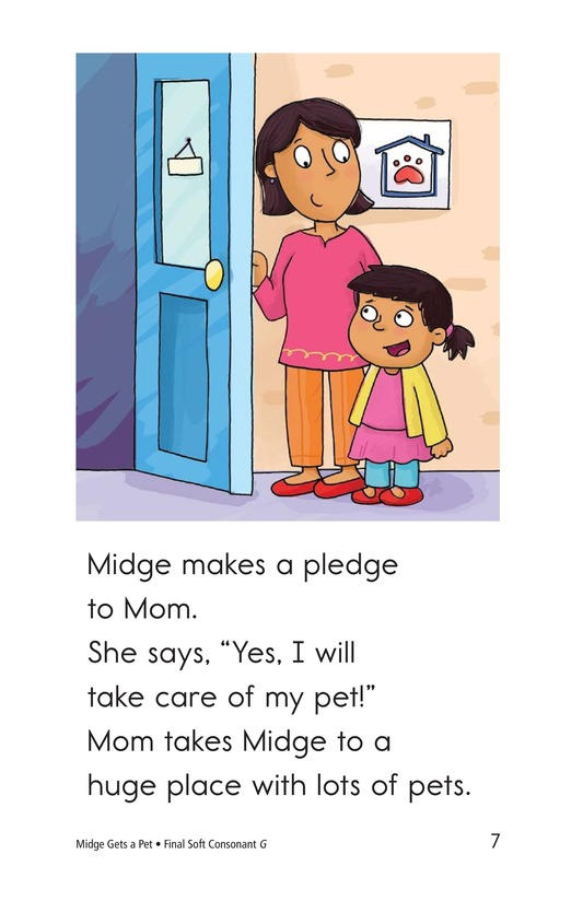 Book Preview For Midge Gets a Pet Page 7