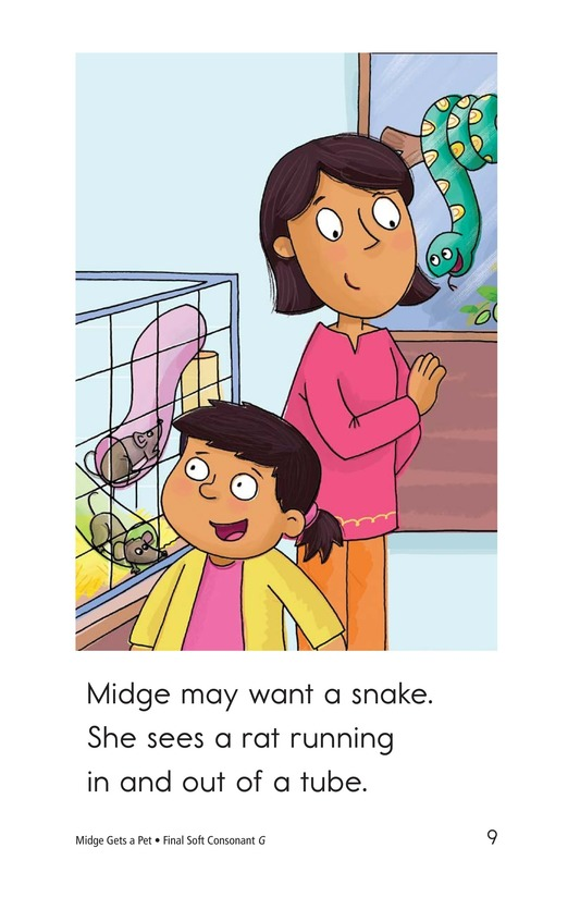 Book Preview For Midge Gets a Pet Page 9