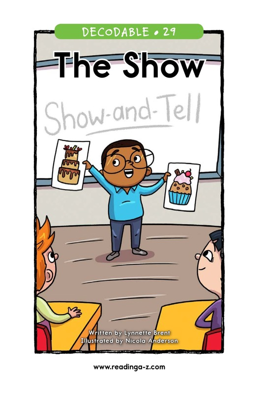Book Preview For The Show Page 1
