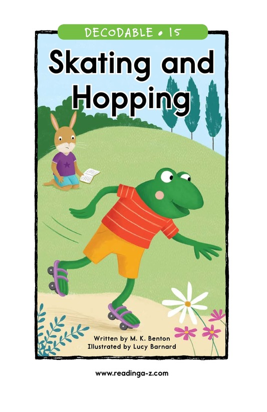 Book Preview For Skating and Hopping Page 1