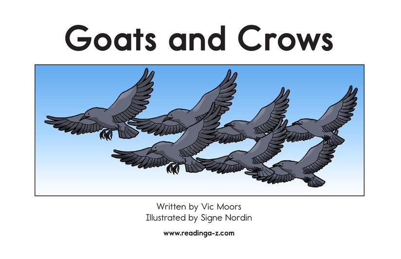 Book Preview For Goats and Crows Page 2