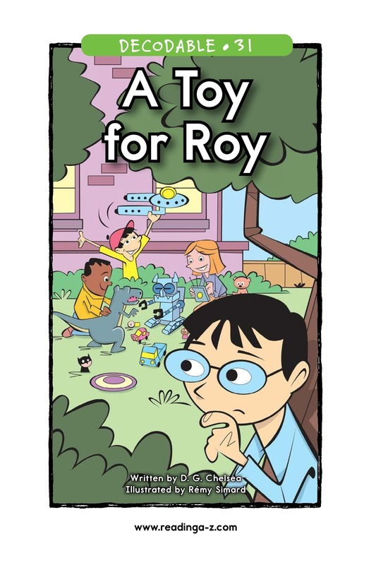 Book Preview For A Toy for Roy Page 1