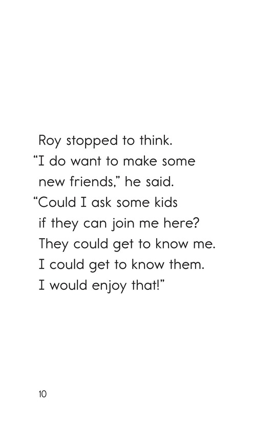 Book Preview For A Toy for Roy Page 10