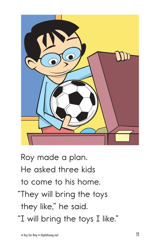 Book Preview For A Toy for Roy Page 11