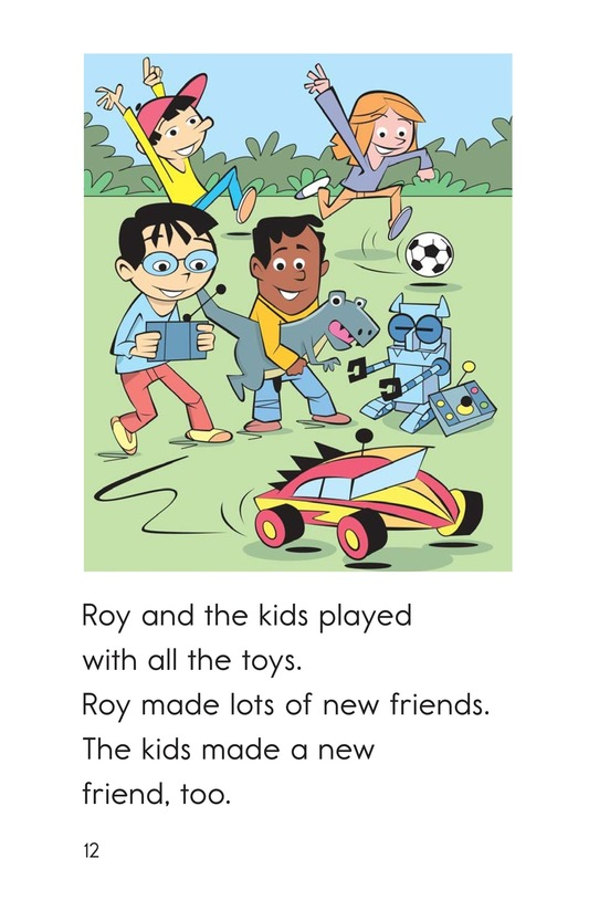 Book Preview For A Toy for Roy Page 12