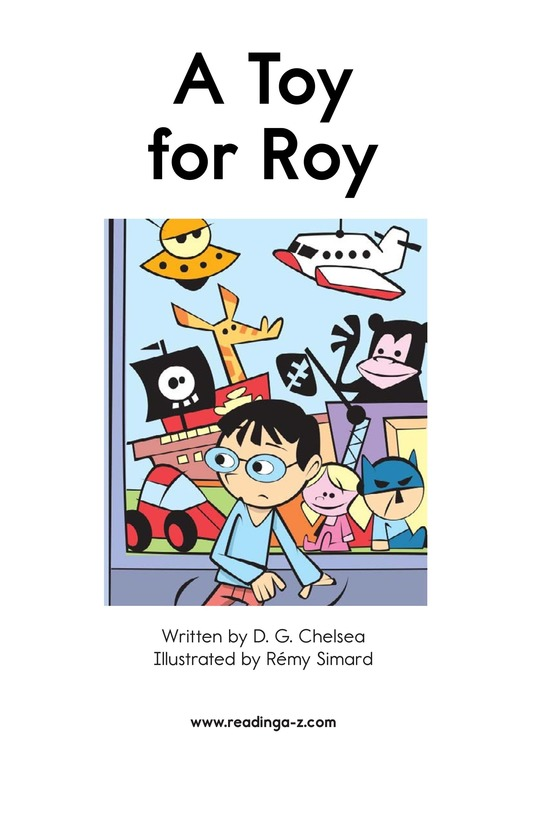 Book Preview For A Toy for Roy Page 2