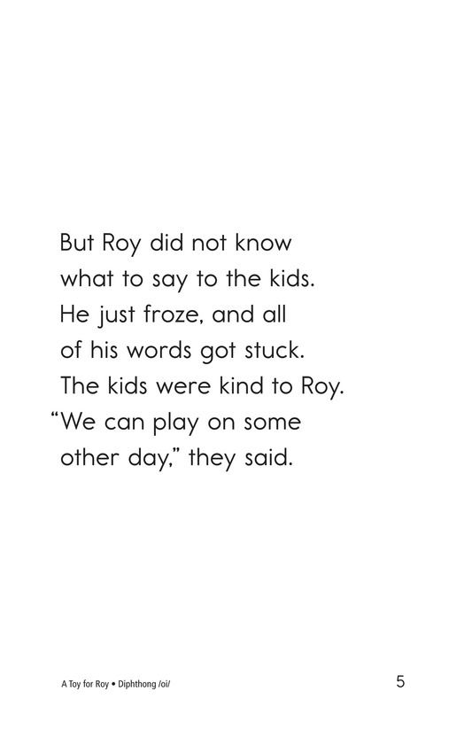 Book Preview For A Toy for Roy Page 5