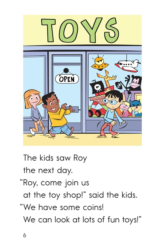 Book Preview For A Toy for Roy Page 6