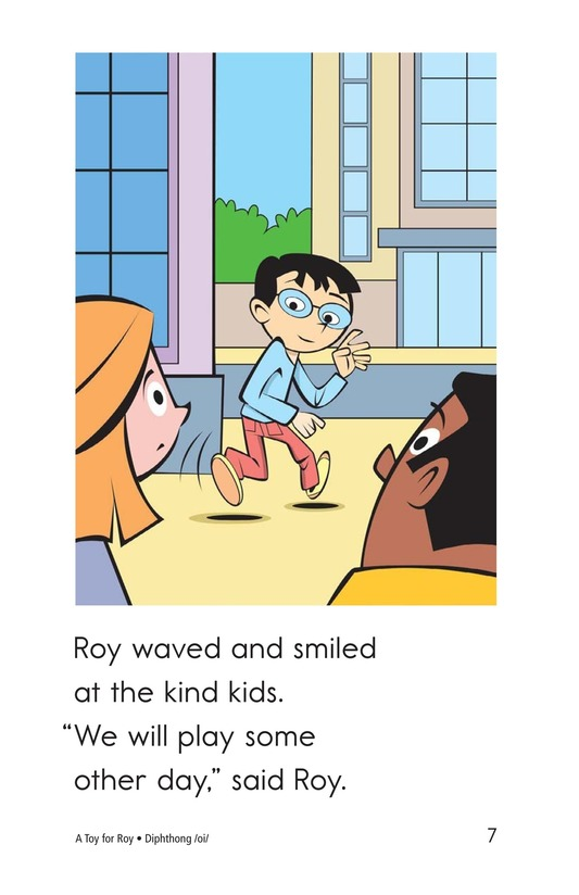 Book Preview For A Toy for Roy Page 7