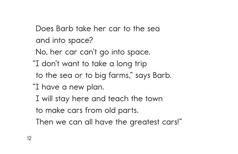 Book Preview For Barb and Her Car Page 12