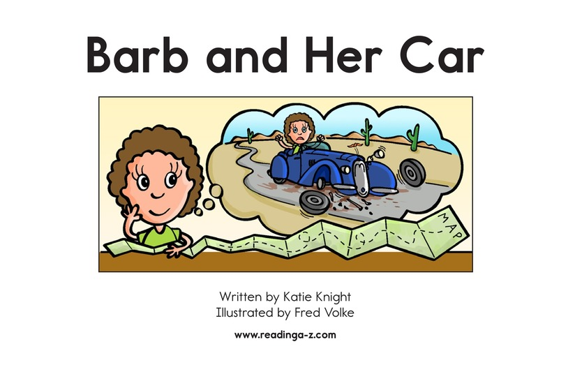 Book Preview For Barb and Her Car Page 2