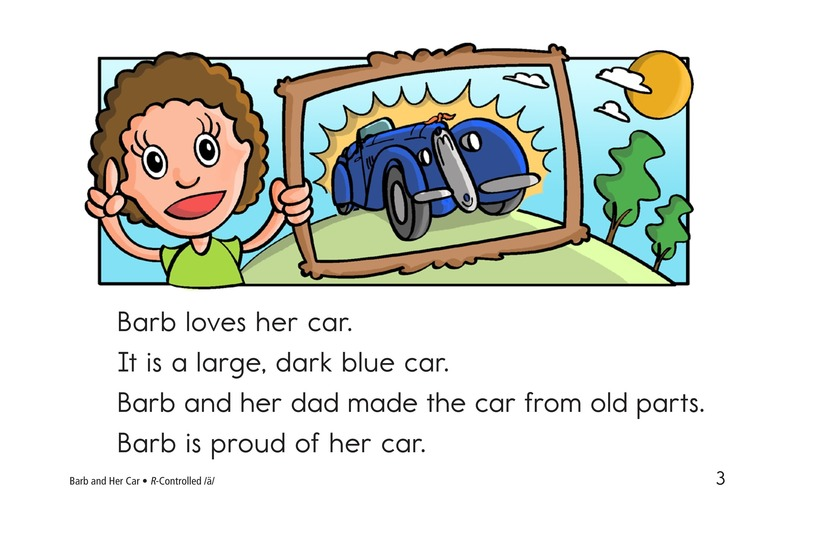 Book Preview For Barb and Her Car Page 3