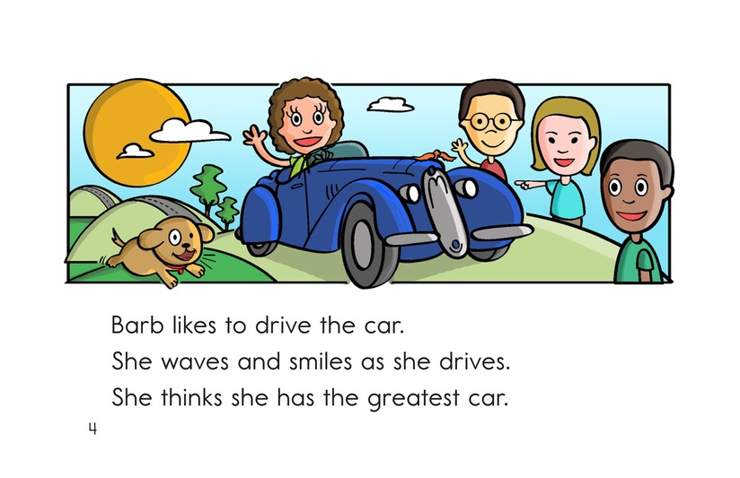 Book Preview For Barb and Her Car Page 4