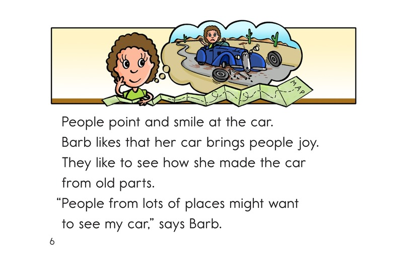 Book Preview For Barb and Her Car Page 6
