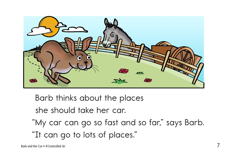 Book Preview For Barb and Her Car Page 7