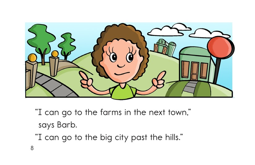 Book Preview For Barb and Her Car Page 8