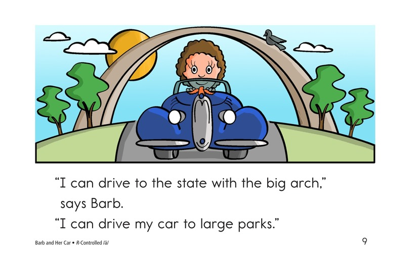 Book Preview For Barb and Her Car Page 9