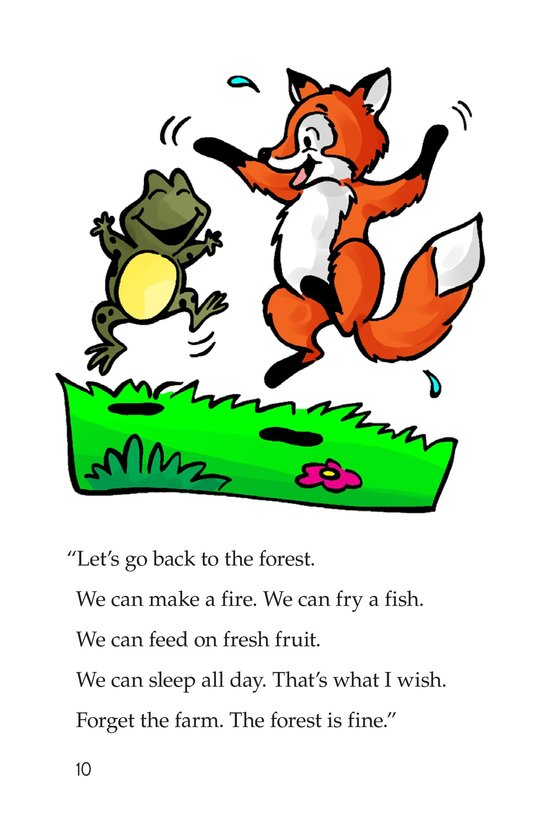 Book Preview For Fox and Frog Page 10