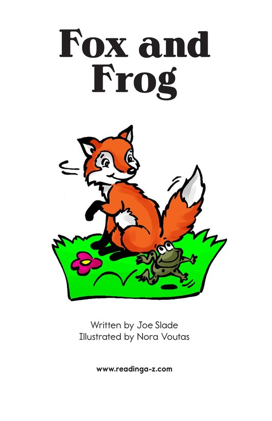 Book Preview For Fox and Frog Page 2