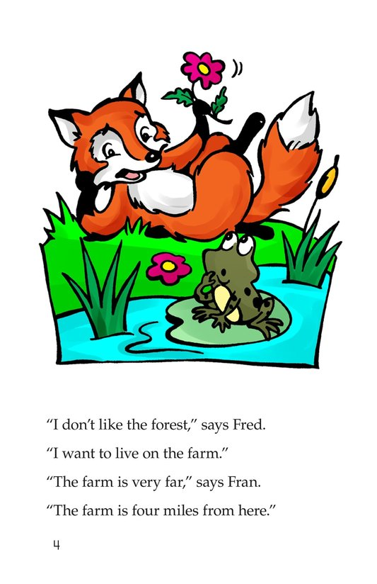 Book Preview For Fox and Frog Page 4