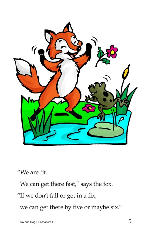Book Preview For Fox and Frog Page 5