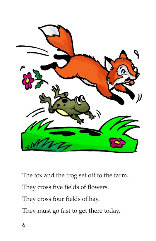 Book Preview For Fox and Frog Page 6