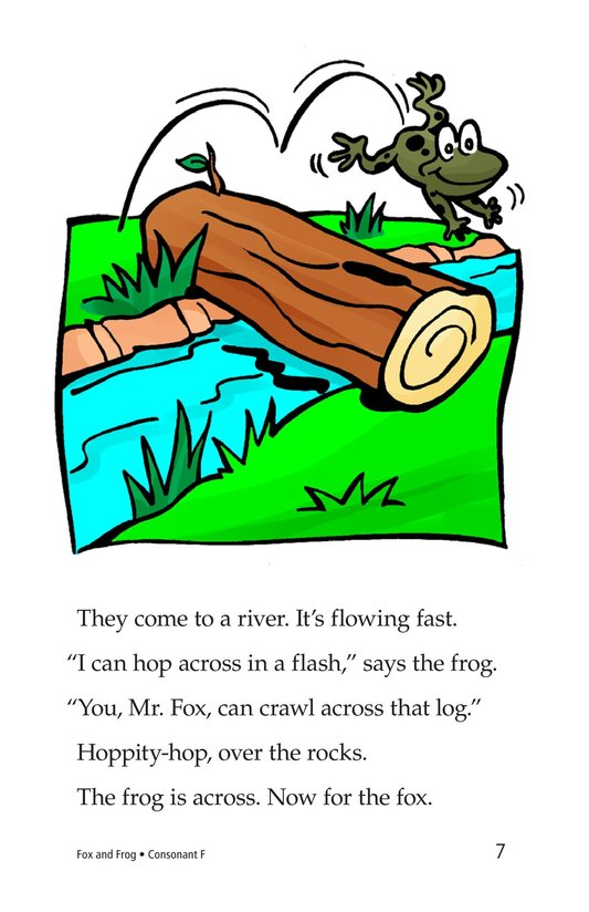 Book Preview For Fox and Frog Page 7