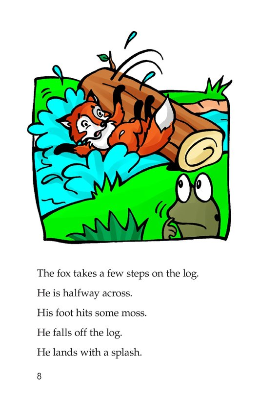 Book Preview For Fox and Frog Page 8
