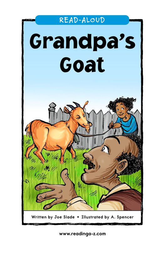 Book Preview For Grandpa's Goat Page 1