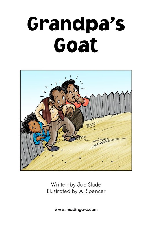 Book Preview For Grandpa's Goat Page 2