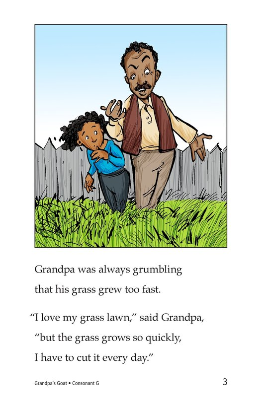 Book Preview For Grandpa's Goat Page 3
