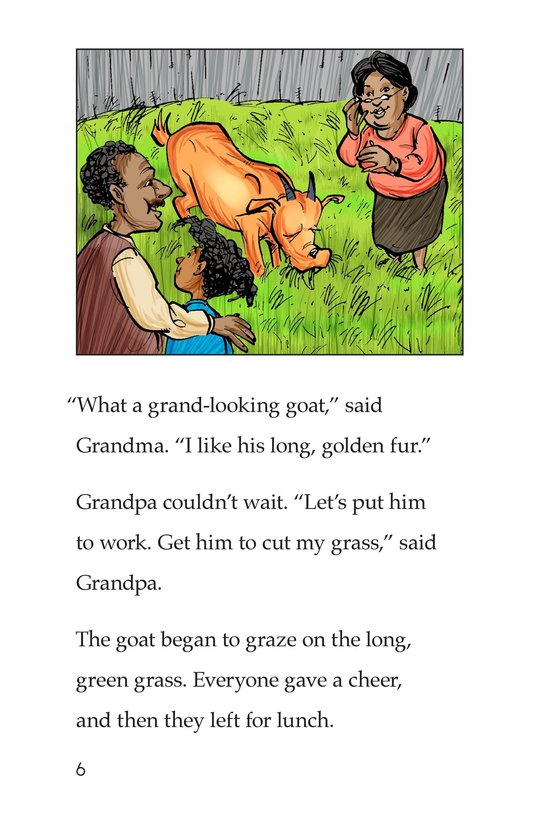 Book Preview For Grandpa's Goat Page 6