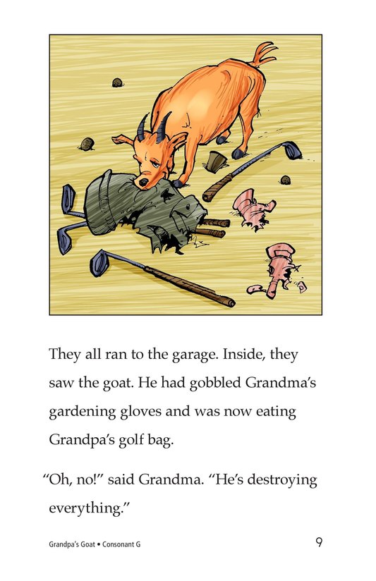 Book Preview For Grandpa's Goat Page 9