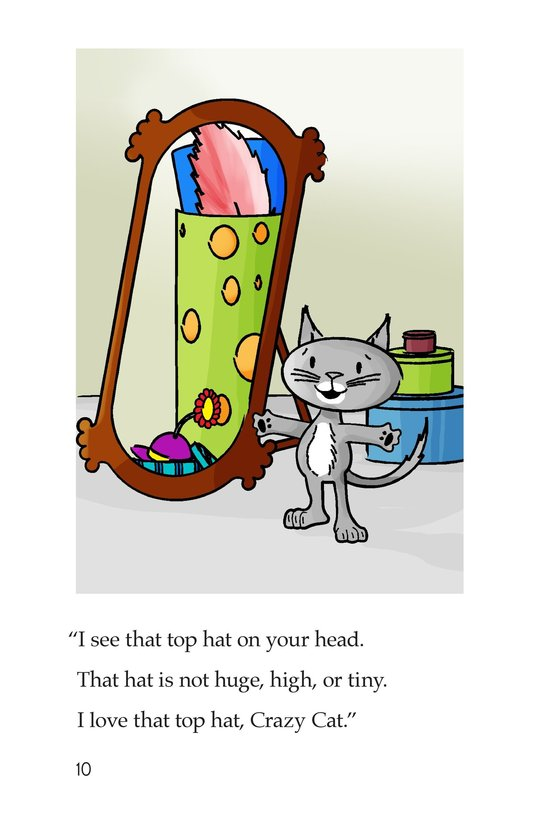 Book Preview For Happy Cat and the Hats Page 10